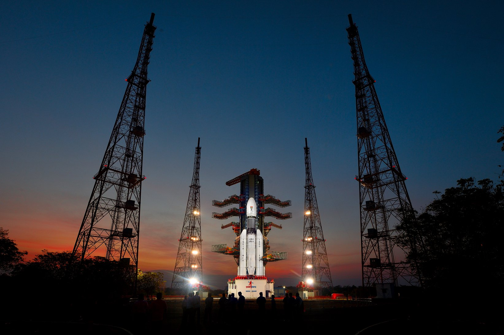 GSLV Mk-III at the Second Launch Pad
