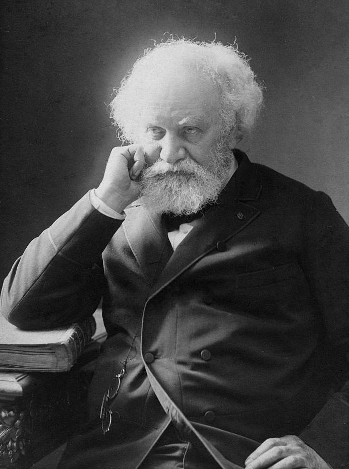 Portrait of Pierre Jules Cesar Janssen circa 1895